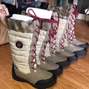 Cougar Canada chateau snow boots oatmeal fur